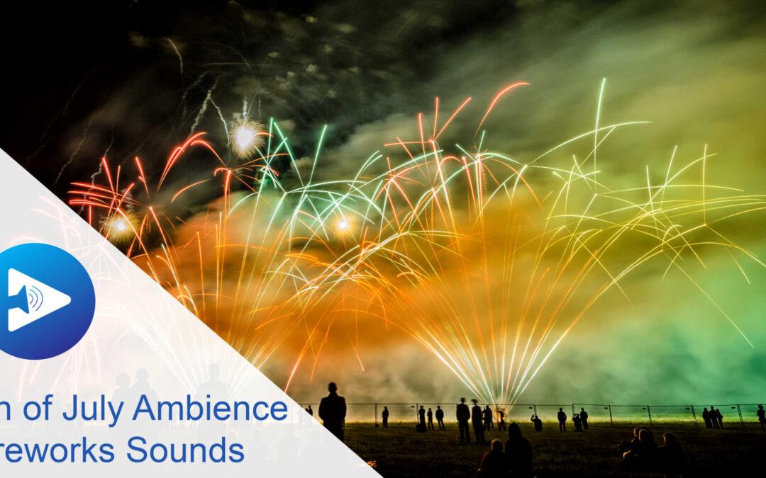 Fireworks sounds